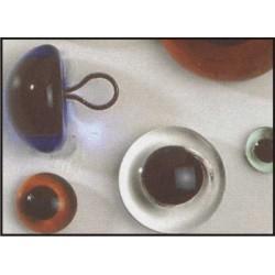 Kunststof veiligheids ogen 8 mm