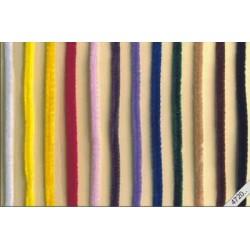 Chenille draad 50 cm (zakje á 10  stuks)