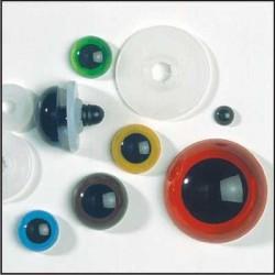 Gekleurde veiligheidsogen  14 mm