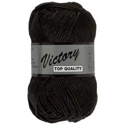 Lammy Yarns Victory 001 Zwart