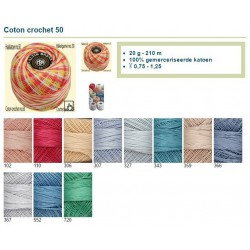 Lammy Yarns Coton Crochet 50