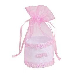 Baby-Geschenkkorfje, roze,...