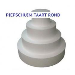 Styropor Ronde (Piepschuim)  Taarten