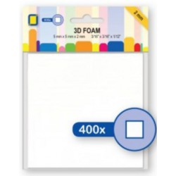 Foamblokjes 5 mm x 5 mm x 2 mm dik (Je Je Product)