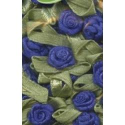 Satin Flower Blauw