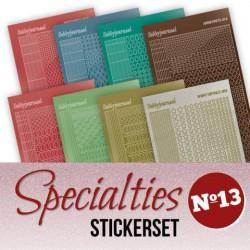 Speciallies 13 Stickerset