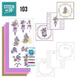 Stitch and Do 103 - Flowers...
