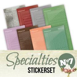 Specialties Stickerset 07