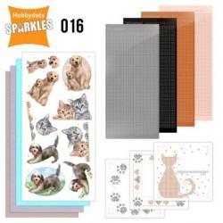 Sparkles Set 16 - Cats & Dogs