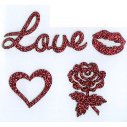 Applicatie Love Glitter...