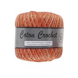 Coton Crochet No. 10 - 411 Rood Oranje Gemelleer