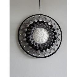 Haakpakket Funny  Mandala  Olijf 25 cm