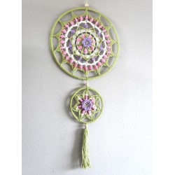 Haakpakket Funny Mandala Pastel 25 cm