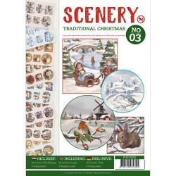 Scenery Traditional Schristmas No. 03