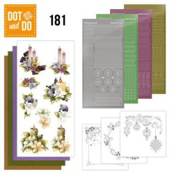 Dot and Do 181 -  a touch of christmas candles precious marieke