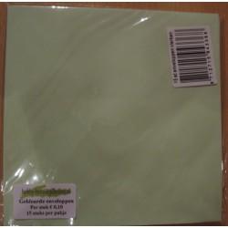 Standaard vierkante envelop...
