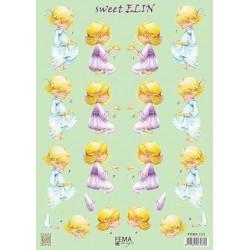 3D Knipvel -  Sweet Elin...