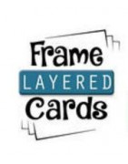 Oplegkaarten - Frame Layered Cards